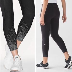 Lululemon Tight Stuff Reflective Leggings